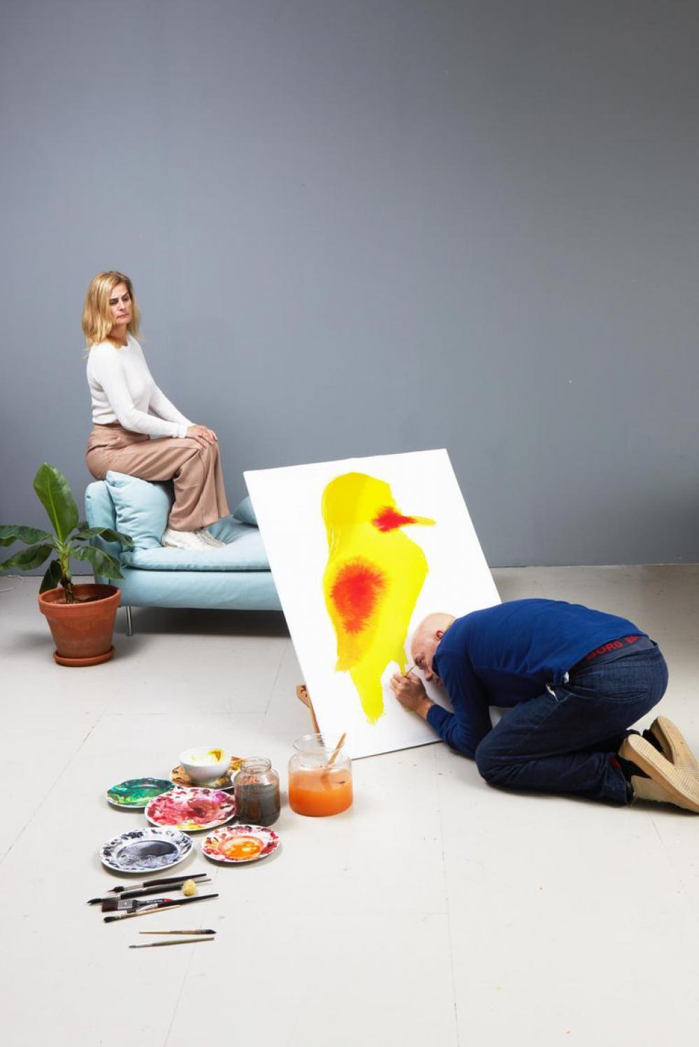 Schilderworkshop door Paul Faassen