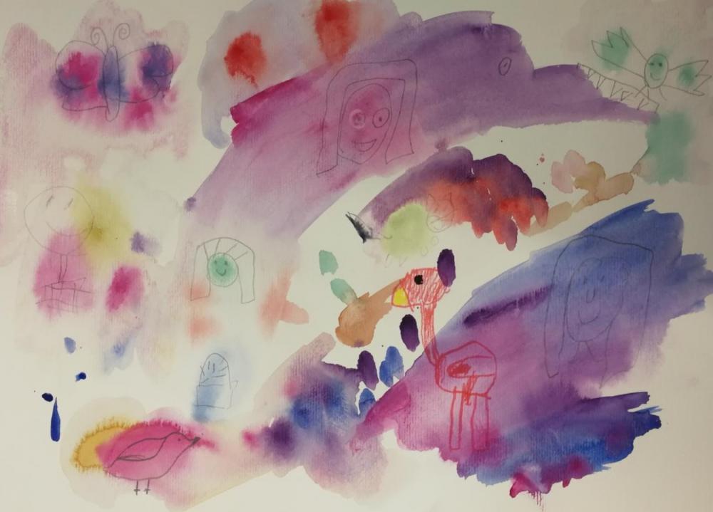 Hirameki - van vlek tot kunst