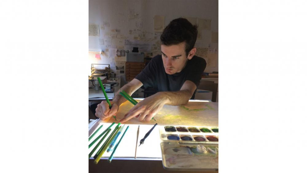 Illustratie-workshop door Ludwig Volbeda