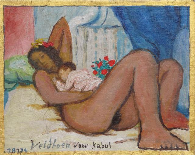 Aat Veldhoen - Levenskunst,  samenstelling Koos Breukel